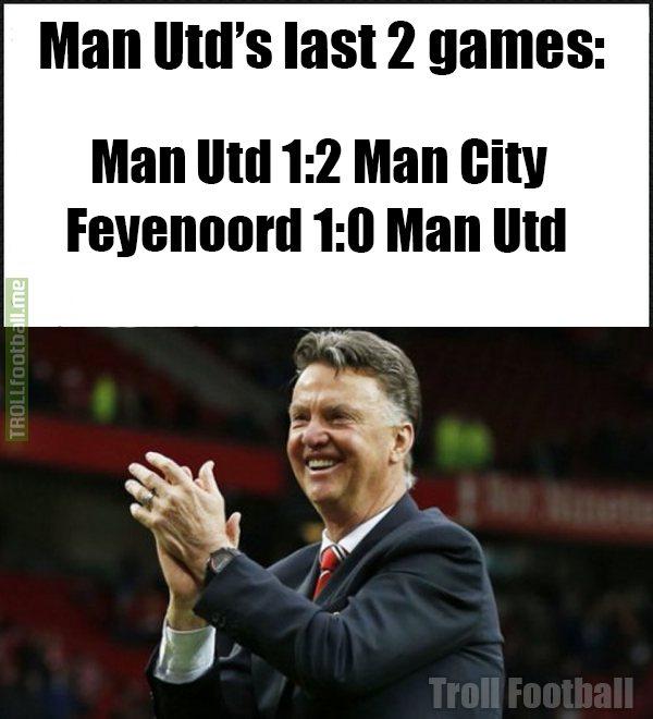 lvg be like video feyenoord 1 0 manchester united highlights footyroom