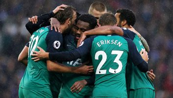 Brighton & Hove Albion  1 - 2  Tottenham Hotspur