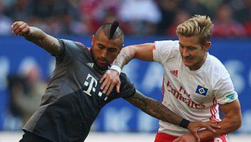 Hamburger SV           0 : 1            Bayern Munich