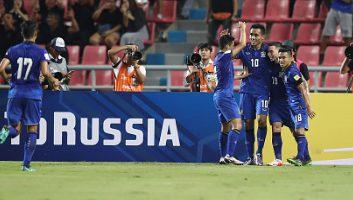 Thailand 2 – 2 Australia