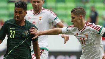 Hungary  1 - 2  Australia