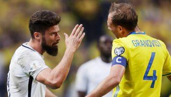 Sweden 2 - 1 France