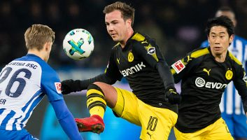 Hertha Berlin  1 - 1  Borussia Dortmund