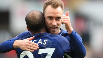 Swansea City  0 - 3  Tottenham Hotspur