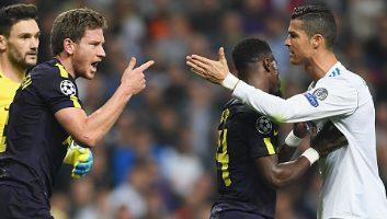 Real Madrid  1 - 1  Tottenham Hotspur