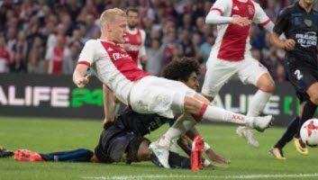 Ajax  2 - 2  Nice