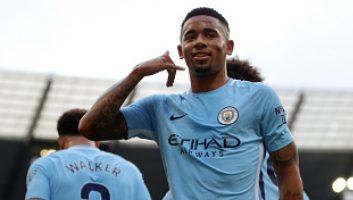 Manchester City  7 - 2  Stoke City