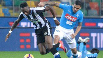Udinese 1 - 2 SSC Napoli