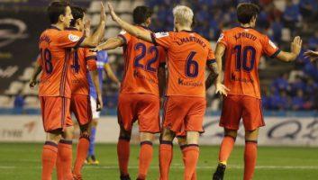 Lleida Esportiu  0 - 1  Real Sociedad