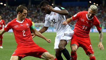 Switzerland  2 - 2  Costa Rica