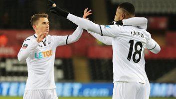 Swansea City  2 - 0  Sheffield Wednesday