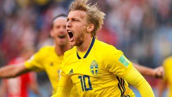 Sweden  1 - 0  Switzerland