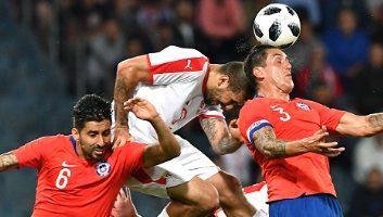 Serbia  0 - 1  Chile