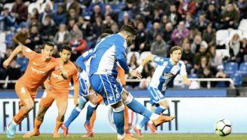 Deportivo La Coruna  3 - 2  Malaga