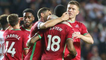 Milton Keynes Dons 1 - 4 Swansea City