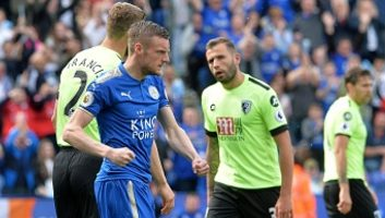 Leicester City 1 - 1 AFC Bournemouth