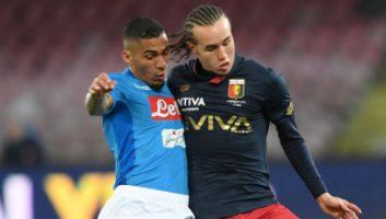 SSC Napoli  1 - 0  Genoa