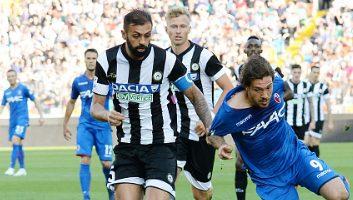 Udinese  1 - 0  Bologna