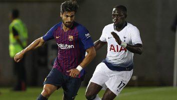 Barcelona 2 - 2 Tottenham Hotspur
