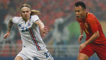 China 0 - 2 Iceland