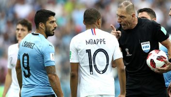 Uruguay  0 - 2  France