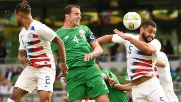 Ireland  2 - 1  USA