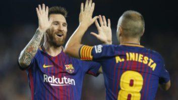 Barcelona  2 - 0  Malaga