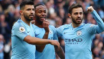 Manchester City  2 - 0  Brighton & Hove Albion