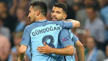 Manchester City           4 : 0            Borussia M'gladbach