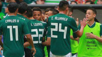 Mexico  1 - 0  Scotland