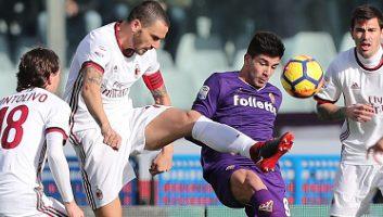 Fiorentina  1 - 1  AC Milan