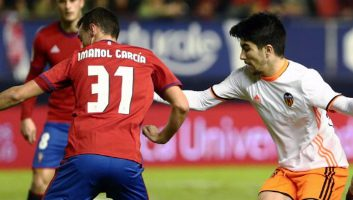 Osasuna 3 - 3 Valencia