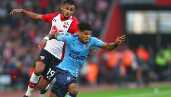 Southampton  2 - 2  Newcastle United