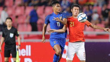 Thailand  0 - 2  China