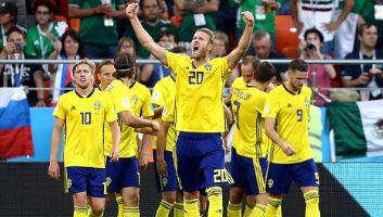 Mexico  0 - 3  Sweden