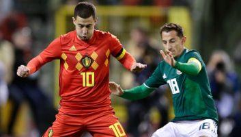 Belgium  3 - 3  Mexico
