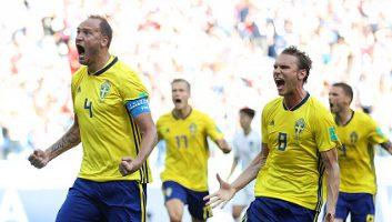 Sweden  1 - 0  South Korea