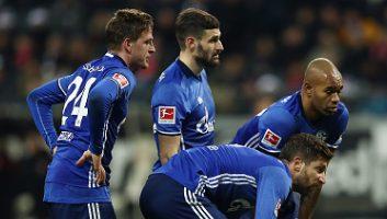 Eintracht Frankfurt  2 - 2  Schalke 04