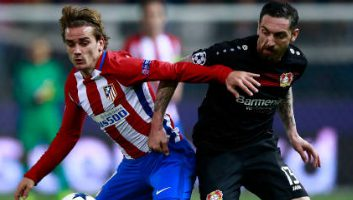 Atletico Madrid 0 - 0 Bayer Leverkusen