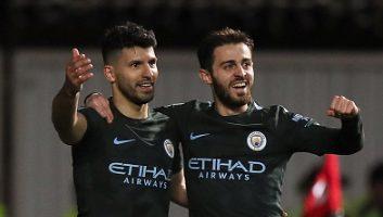 Bristol City  2 - 3  Manchester City