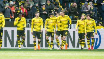 Borussia Dortmund  1 - 0  Hannover 96