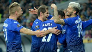 Dynamo Kyiv  0 - 2  Lazio