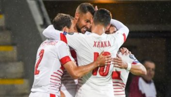 Latvia 0 - 3 Switzerland