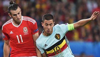 Wales 3 - 1 Belgium