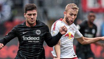 Eintracht Frankfurt  1 - 1  RasenBallsport Leipzig
