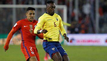 Chile  2 - 1  Ecuador