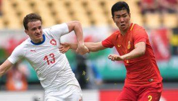 China  1 - 4  Czech Republic