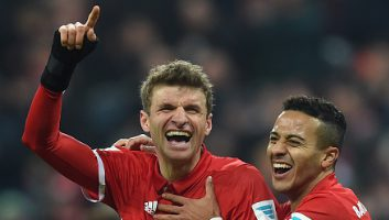 Bayern Munich 5 - 0 Wolfsburg