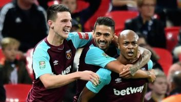 Tottenham Hotspur  2 - 3  West Ham United