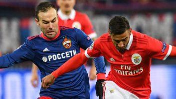 CSKA Moscow  2 - 0  Benfica